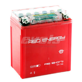 Red Energy RE12-07.1 (YTX7L-BS 7А/ч) зал.
